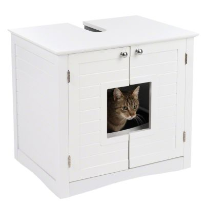 Bathroom Litter Tray Cupboard Free P Amp P On Orders 163 29 At