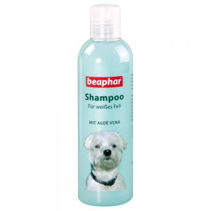 hundeshampoo zu discountpreisen bei beaphar hunde shampoo f r wei es fell. Black Bedroom Furniture Sets. Home Design Ideas