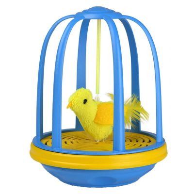 Bird In A Cage Cat Toy Great Deals On Cat Toys At Zooplus