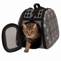 Caixas de transporte e acessórios para gatos