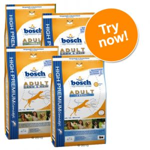 bosch adult dry dog food mixed trial pack 4 x 1kg great. Black Bedroom Furniture Sets. Home Design Ideas