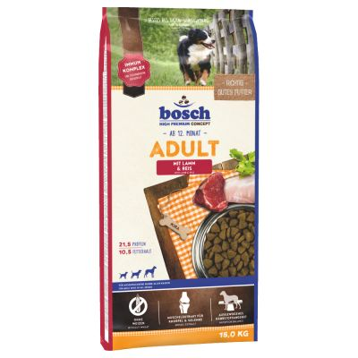 Bosch Adult Lamb & Rice (nová receptura)