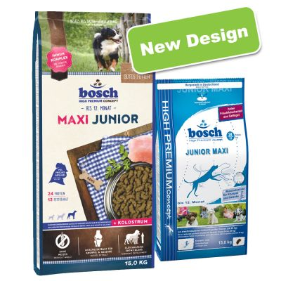 bosch dog food on sale now at zooplus bosch junior maxi