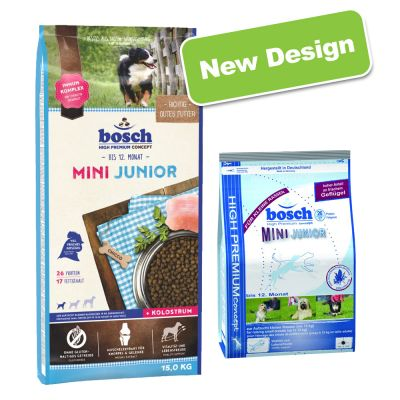 bosch mini junior dry dog food free p p 29. Black Bedroom Furniture Sets. Home Design Ideas
