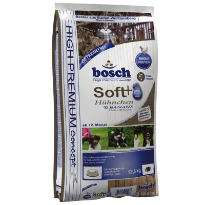 bosch soft h hnchen banane g nstig bei zooplus. Black Bedroom Furniture Sets. Home Design Ideas