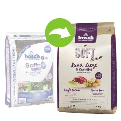 Bosch soft senior croquettes pour chien zooplus - Race de pomme de terre ...