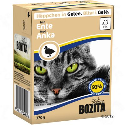 Bozita Wet Cat Food Ingredients