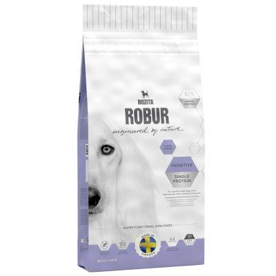 bozita robur sensitive single protein lamm reis g nstig bei zooplus. Black Bedroom Furniture Sets. Home Design Ideas