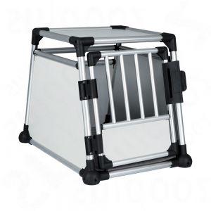 trixie cage de transport en aluminium pour chien zooplus. Black Bedroom Furniture Sets. Home Design Ideas