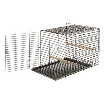 ferplast viaggio cage de transport pour oiseaux zooplus. Black Bedroom Furniture Sets. Home Design Ideas