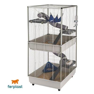 Furet tower cage pour rat et furet zooplus - Prix d un furet ...