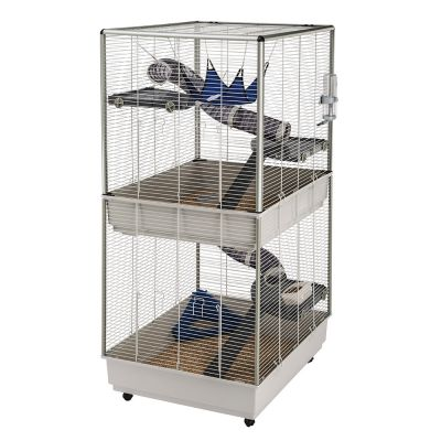 furet tower cage pour rat et furet zooplus. Black Bedroom Furniture Sets. Home Design Ideas