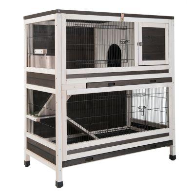 shop rongeurs cage lapin a plusieurs niveaux