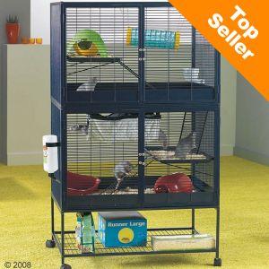 savic suite royal 95 double cage pour rat et furet zooplus. Black Bedroom Furniture Sets. Home Design Ideas