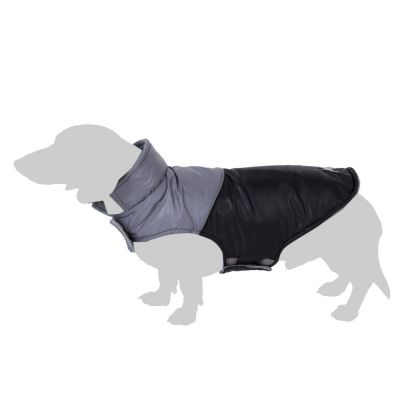 Cappotto per cani Bones - nero