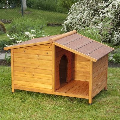 Caseta de madera spike special para perros - Casetas de madera para terraza ...