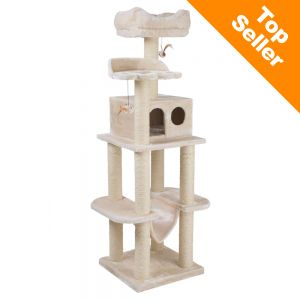 Cat Tree Scratching Post on cardboard cat scratching pads