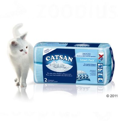 Catsan smart pack great deals on cat litter at zooplus for Catsan lettiera