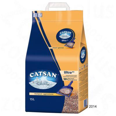 Catsan Ultra Clumping Cat Litter Free P Amp P 163 29 At Zooplus