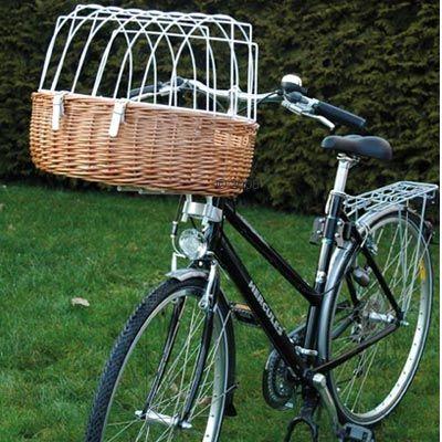 Cesta con rejilla para bicicletas - Cestas para bicicletas ...
