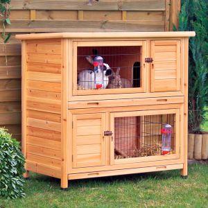 natura tage clapier pour lapin et cochon d 39 inde zooplus. Black Bedroom Furniture Sets. Home Design Ideas