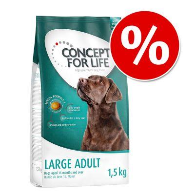 concept for life pour chien 1 5 kg prix avantageux offres sp ciales zooplus. Black Bedroom Furniture Sets. Home Design Ideas