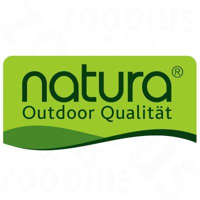 Conejera Natura 2 en 1 con aislamiento contra el calor