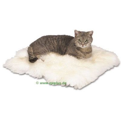 trixie coussin en peau de mouton pour chat zooplus. Black Bedroom Furniture Sets. Home Design Ideas