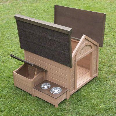 Cuccia da esterno per cane in legno pretrattato con for Prezzo cuccia cane leroy merlin