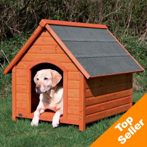 Cuccia per cani tetto spiovente