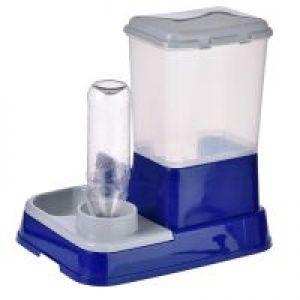 Distributore di acqua e cibo 2in1
