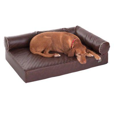 Letto cuccia divano ortopedico per cane in memory foam l for Divano letto materasso ortopedico