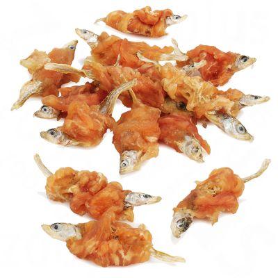 Dokas poisson, poulet pour chien, chat et furet