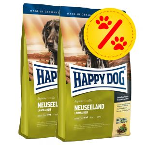 doppelpack happy dog supreme zu discountpreisen bei. Black Bedroom Furniture Sets. Home Design Ideas