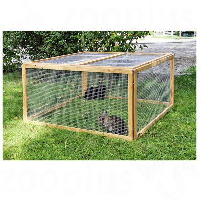 Enclos en bois pour rongeur et lapin