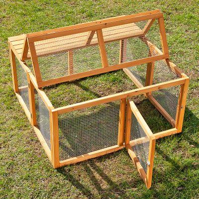 outback springtime en bois enclos pour rongeur et lapin. Black Bedroom Furniture Sets. Home Design Ideas