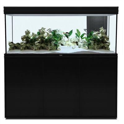 Aquatlantis fusion 150 led ensemble aquarium sous meuble - Aquarium 350 litres complet meuble et poissons ...