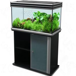 Ensemble aquarium sous meuble aquatlantis kit evasion 80x40 for Meuble 80x40