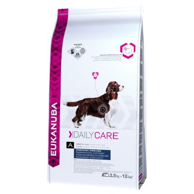 Eukanuba Adult Daily Care Overweight / Sterilised