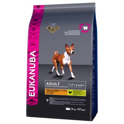 eukanuba adult medium breed poulet croquettes pour chien. Black Bedroom Furniture Sets. Home Design Ideas