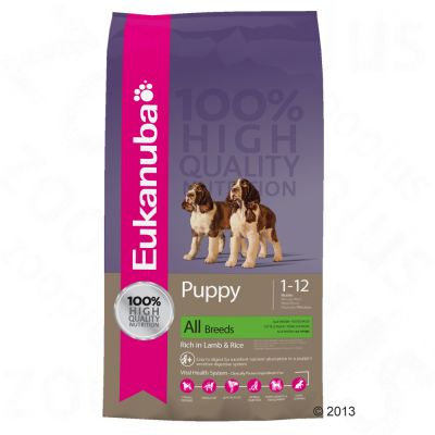 Eukanuba Puppy Food Lamb Amp Rice Free P Amp P On Orders 163 29