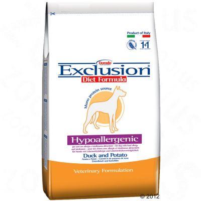 Granule exclusion