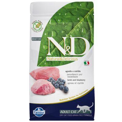 Farmina N&D Grain Free Adult Cat Agnello e Mirtillo