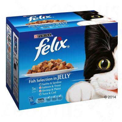 nourriture en sachet felix pour chats prix avantageux chez zooplus felix eminc s en gel e 12. Black Bedroom Furniture Sets. Home Design Ideas