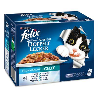 Felix kapsičky Fantastic dvojnásobně lahodný 12 x 100 g