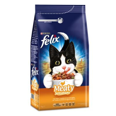 Felix Meaty Sensations s drůbežím masem