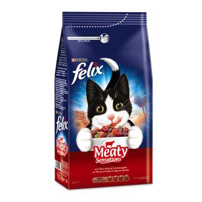 Felix Meaty Sensations s masem