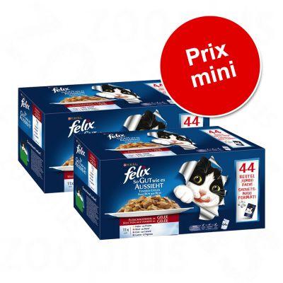 nourriture en sachet felix pour chats prix avantageux chez zooplus felix tendres effil s en. Black Bedroom Furniture Sets. Home Design Ideas