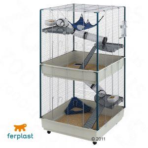 rat ferret cage furet tower bargain prices at zooplus. Black Bedroom Furniture Sets. Home Design Ideas