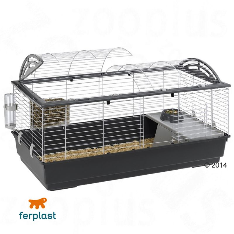 Small ferplast pet cage casita 120 great deals at zooplus for Small guinea pig cages for sale